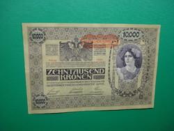 Ropogós 10000 korona 1918