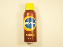 Retro NIVEA napolaj aerosol spray flakon - KHV gyártó - 1970-es évekből