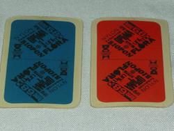 2 pakli francia kártya