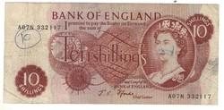10 shilling 1966-70 Anglia