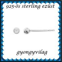 925-ös sterling ezüst: fülbevaló EF 07