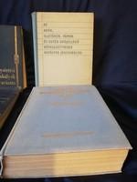 Hatályos jogszabályok, szabálysértési jogszabályok könyv(4)db