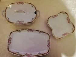 Eladó régi porcelán cseh aich epiag virág mintás  találó készlet!