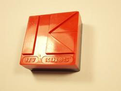 Retro ITV KORES írógépszalag írógép szalag műanyag doboz - 1970-1980-as évekből
