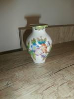Herendi Viktória mini váza- ibolya váza