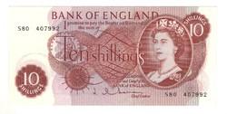 10 shillind 1962-66 UNC Anglia