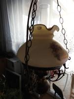 Muránói üvegburás luszter lámpa
