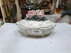 ENSZ porcelán bonbonier