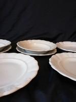 Zsolnay Indamintás tányér. (7)darab.