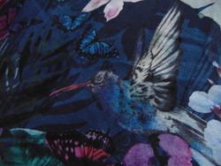 Csodaszép madaras virágos 100 % pamut ágynemű