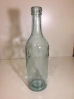 Harmatvizes, címeres üveg, palack (72)