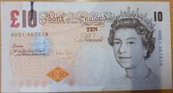 10 font pound pounds 2004 Anglia angol