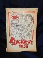 Kémcsőkefe 1956. Könyv.