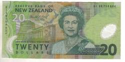 20 dollár 1999 Új Zéland