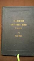 Mezey Bertalan Elektromótorok szerkezete, működése, kapcsolása és kezelése 1910