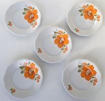 Régi csehszlovák süteményes tányérok EPIAG