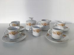 Alföldi kávés készlet porcelán