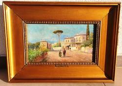 Pietro Toretti (1888-1927): Itáliai táj -