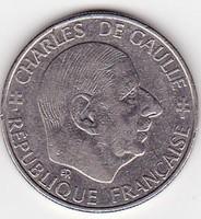 Franciaország forgalomba került emlékérme 1988