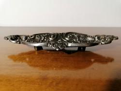 Antik öntöttvas asztal dísz kínáló jelzett (Ér-553)