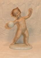 Schaubachkunst porcelán puto labdával