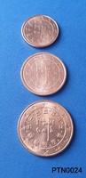 Portugália 1/2/5 cent (BU) EF