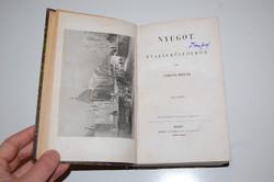 !!! Gorove István: Nyugot. Utazás külföldön. 1-2. kötet RITKA útleírás 1844 !!!