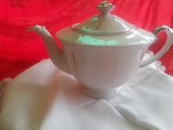 Drasche porcelán teás kancsó kiöntő