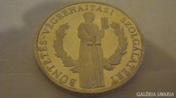 RITKA Büntetés-végrehajtási Munkáért ezüst plakett