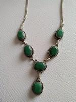 Smaragd köves nyaklánc