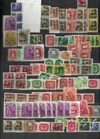 Kb 130 darab magyar bélyeg lot régiek újak vegyesen Horthy kor KIÁRUSÍTÁS 1 forintról