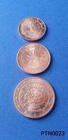 Ausztria 1/2/5 cent (BU) EF