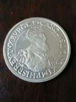 Belgium Ezüst 5 Ecu 1987 Bu 22,85 Gr  0,833 % Ezüst