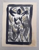4 darab akvarell 1923.