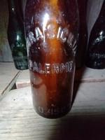 Antik sörösüveg padlásról 2. BIRRA SICILIA PALERMO