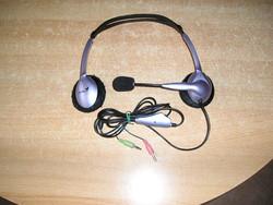 Vezetékes fejhallgató mikrofonnal - Genius