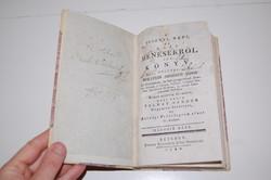 !!! Wolstein - A' Pusztai, Hadi, És Házi Ménesekröl Irt Könyv 1786 Bécs Ritka lovas könyv !!!