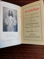 Herz Jesu Segen 1915 német imakönyv
