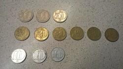A szocialista Csehszlovákia váltópénzei LOT