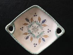 Gorka Géza füles, habános kínáló tál, asztalközép