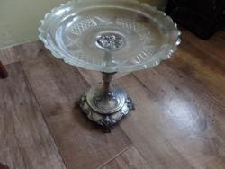 Ezüst talpú asztalközép