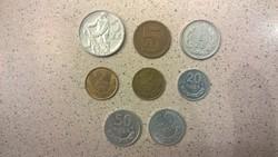 Lengyel zloty forgalmi érmék LOT