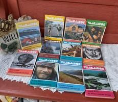 11 db Világjárók könyv Arany hegyek útján,  A cél :A MOUNT EVEREST, Kockázat nélkül nincs győzelem