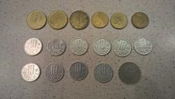 Osztrák forgalmi érmék LOT