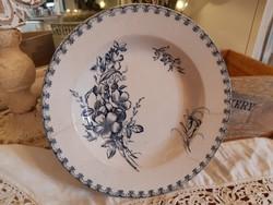 Meseszép, antik  SARREGUEMINES francia  tányér 23 cm
