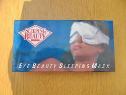 Sleeping Beauty szemszépítő alvómaszk (újszerű, dobozában, dokumentáció)