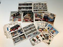 Régi LEGO prospektusok reklám anyagok Német nyelvű 60-as 70-es évek