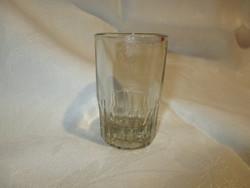 Ritka, különleges régi mércés üveg pohár