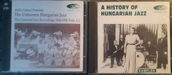 THE UNKNOWN HUNGARIAN JAZZ VOL.1-2 ÉS A HISTORY OF HUNGARIAN JAZZ  -  RITKA !