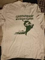 Greenpeace póló 2002-es XL